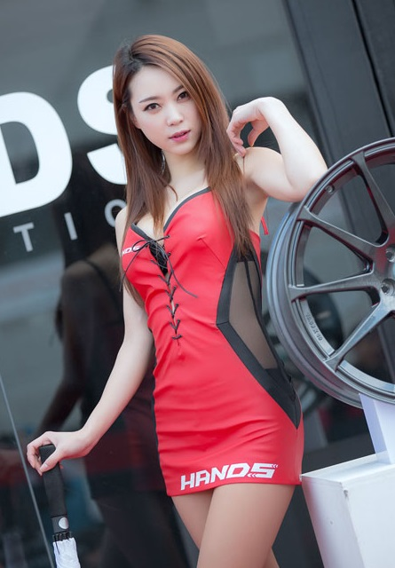 Race Queen Ju Da Ha | Asian Car Model 6