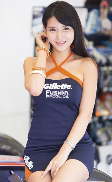 Cha Sun Hwa | Asian Car Model1