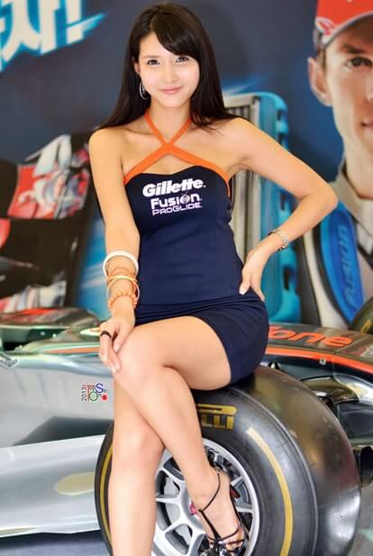 Cha Sun Hwa | Asian Car Model2