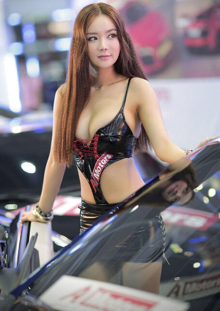 Seoul Auto Salon Chicks | Asian Car Model2