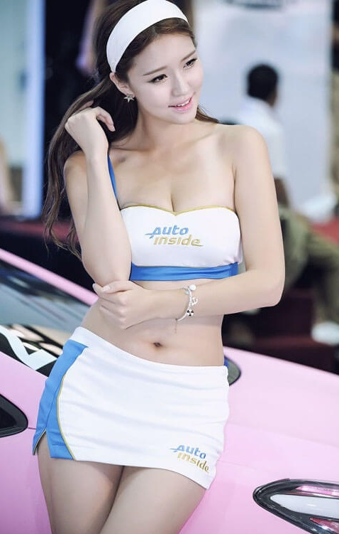 Seoul Auto Salon Chicks | Asian Car Model3