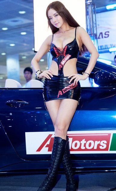 Seoul Auto Salon Chicks | Asian Car Model4