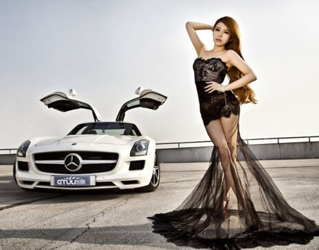 Lin Yan Mei | Asian Car Model3