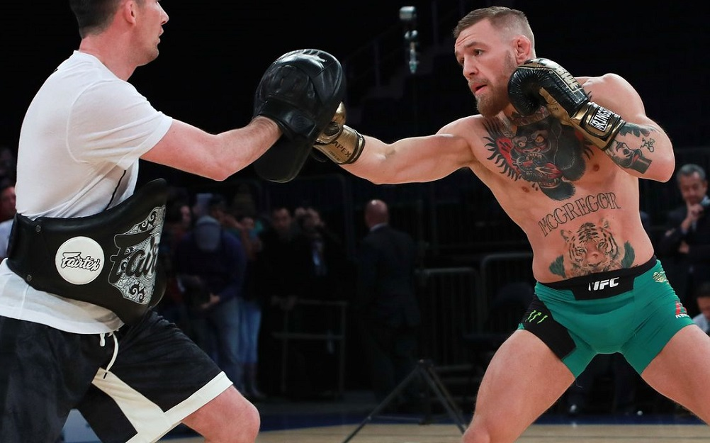 Conor McGregor boxing update