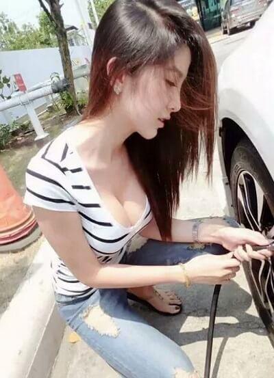 Slutty Mechanics | Asian Car Model2