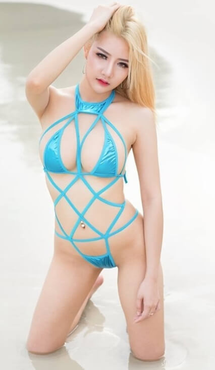 Hot Blonde Asians | Model of the Week9