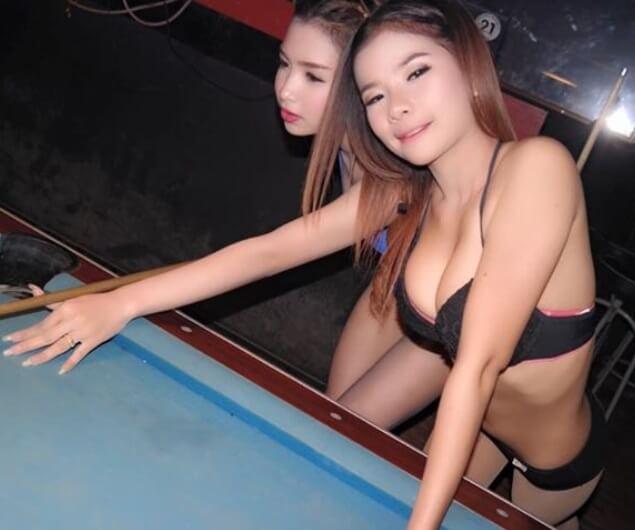 Billiards Chicks   Hot Asian Group12