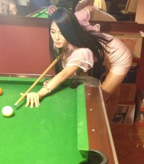 Billiards Chicks | Hot Asian Group8