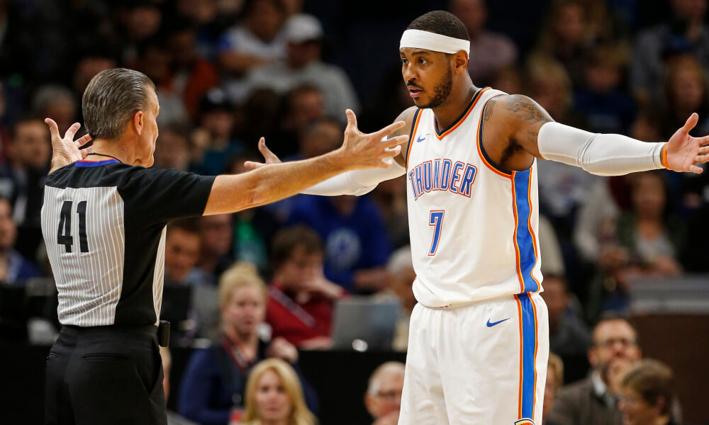 Carmelo Anthony nba update