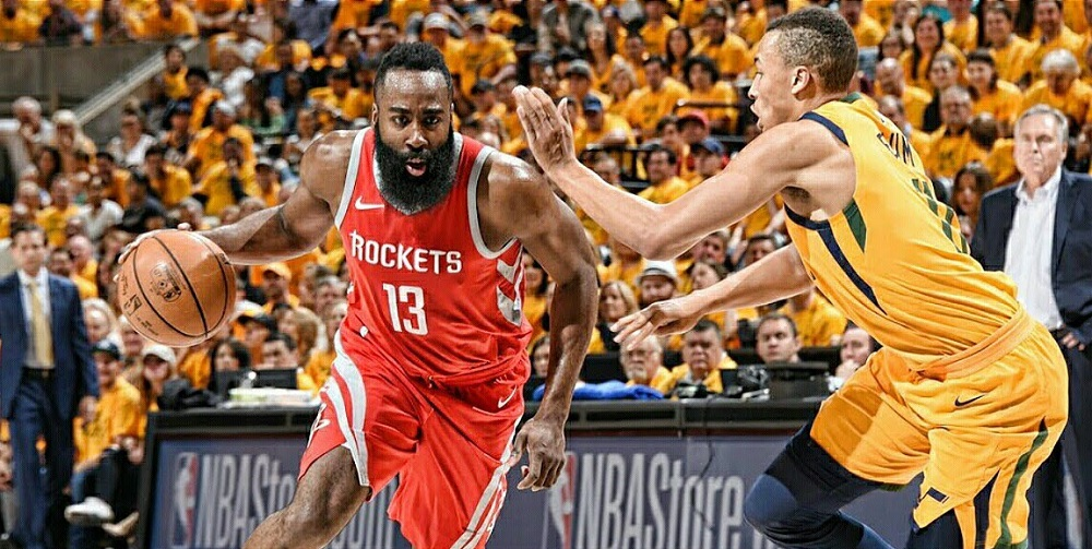 Utah Jazz versus Houston Rockets