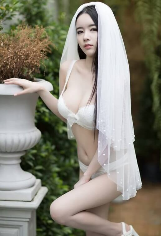 Sexy japanese cosplay bride loves - 2 7