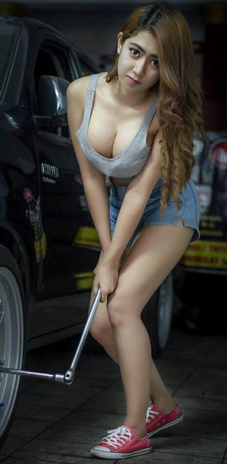 Slutty Mechanics | Asian Car Model1