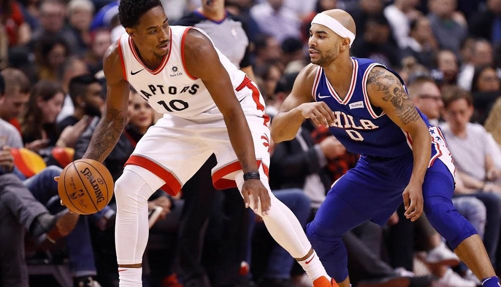 NBA Monday - Pair of Game 4s raptors versus 76ers