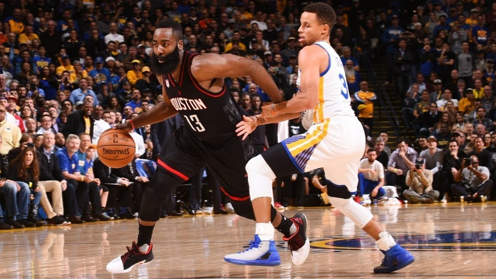 NBA Playoffs - Warriors vs Rockets game 2