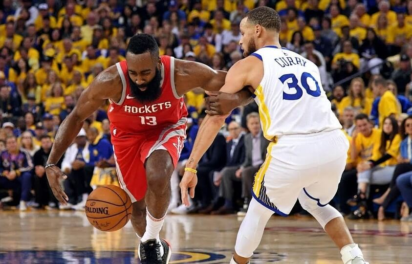NBA Playoffs - Warriors vs Rockets